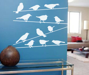 Birds On Strings (2.7M Wide)