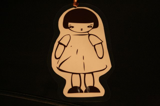 Wandering Girl Bookmark 80 x 160 mm